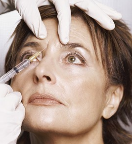 USHR Spa injectables such as Botox reduce facial aging.